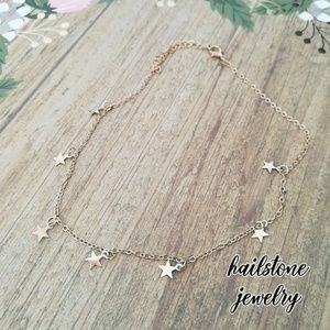 Urban Outfitters Jewelry - Dainty Star Choker Necklace